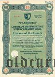 Landesbank und Girozentrale in Kiel, 1000 reichsmark 1941
