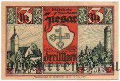 Циезар (Ziesar), 3 марки