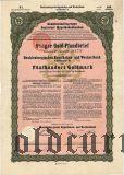 Mecklenburgischen Hypotheken- und Wechselbank, 500 goldmark 1926