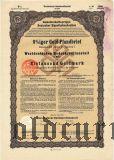 Westdeutschen Bodenkreditanstalt in Köln, 1000 goldmark 1926