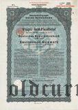 Deutsche Hypothekenbank, Meiningen, 2000 goldmark 1928
