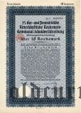 Neumarkische Ritterschaftliche, 10 reichsmark 1930