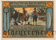Люббекке (Lübbecke), 50 пфеннингов 1921 года