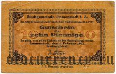 Имменштадт (Immenstadt), 10 пфеннингов 1917 года
