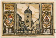 Нойэттинг (Neuötting), 50 пфеннингов 1921 года