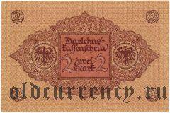 Германия, 2 марки 1920 года