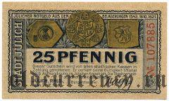 Юлих (Jülich), 25 пфеннингов 1919 года