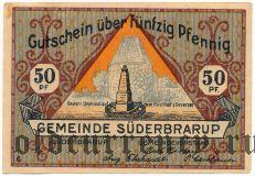 Зюдербраруп (Süderbrarup), 50 пфеннингов