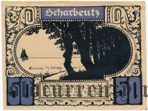 Плён (Plön), 50 пфеннингов 1921 года