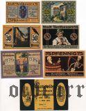 Нордхаузен (Nordhausen), 6 нотгельдов 1921 года. В оригинальном конверте