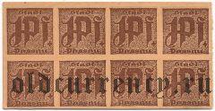 Пассау (Passau), 1 пфеннинг (1921) года. Сцепка из 8 шт. Вар. 3