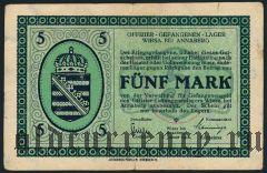 Германия, Wiesa bei Annaberg, 5 марок 1916 года