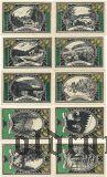 Лаутенталь (Lautenthal), 10 нотгельдов 1921 года