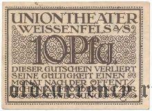 Вайсенфельс (Weissenfels), 10 пфеннингов