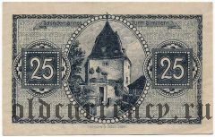 Зиммерн (Simmern), 25 пфеннингов 1919 года. Вар. 2