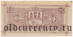 Биденкопф (Biedenkopf), 25 пфеннингов 1920 года