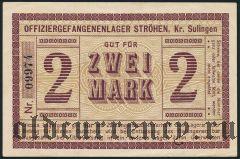 Германия, Ströhen Kr. Sulingen, 2 марки