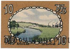 Артерн (Artern), 10 пфеннингов 1921 года