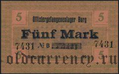 Германия, Burg, 5 марок