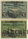 Бернек (Berneck), 2 нотгельда 1921 года