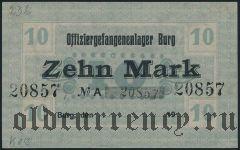 Германия, Burg, 10 марок