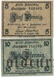 Шкойдиц (Schkeuditz), 2 нотгельда 1918 года