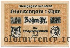 Бланкенхайн (Blankenhain), 10 пфеннингов. Вар. 2
