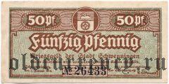 Швеннинген (Schwenningen), 50 пфеннингов 1919 года