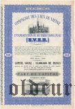 Бельгия, Compagnie des Eaux de Vienne, пай 1944 года
