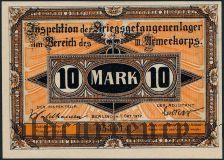 Германия, Brandenburg, 10 марок 1917 года