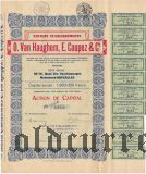 Бельгия, O. Van Haughem, E. Coupez & Cie, 1000 франков 1944 года