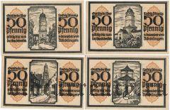 Нёрдлинген (Nördlingen), 4 нотгельда 1918 года