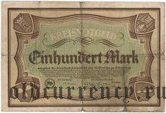 Дилленбург (Dillenburg), 100 марок 1922 года