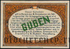 Германия, Guben, 10 марок 1917 года