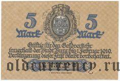 Бург (Burg), 5 марок 1918 года