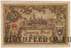 Ульм (Ulm), 20 марок 1918 года