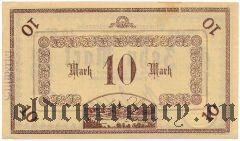 Цойленрода (Zeulenroda), 10 марок 02.11.1918 года