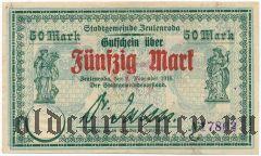 Цойленрода (Zeulenroda), 50 марок 02.11.1918 года