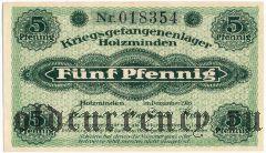 Германия, Holzminden, 5 пфеннингов 1916 года