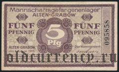 Германия, Alten-Grabow, 5 пфеннингов 1916 года