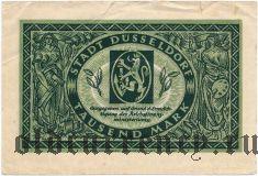 Дюссельдорф (Düsseldorf), 1000 марок 1922 года