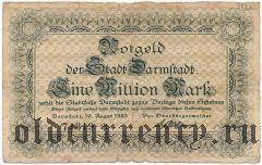 Дармштадт (Darmstadt), 1.000.000 марок 1923 года