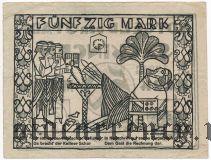 Зеккинген (Sackingen), 50 марок 1922 года