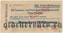 Хемниц (Chemnitz), 100.000.000 марок 19.09.1923 года
