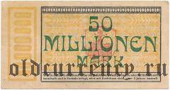 Пирмазенс (Pirmasens), 50.000.000 марок 1923 года