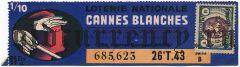 Франция, лотерейный билет 1943 года