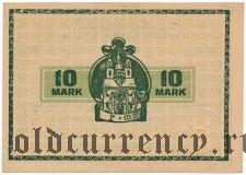 Вормс (Worms), 10 марок 1918 года