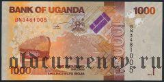 Уганда, 1000 шиллингов 2013 года