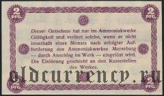 Мерзебург (Merseburg), 2 пфеннинга