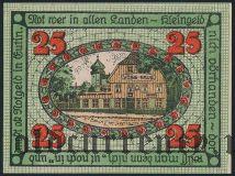 Ойтин (Eutin), 25 пфеннингов 1920 года